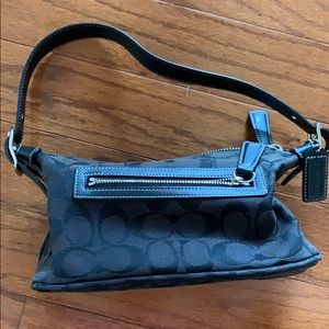 Vintage Coach Purse in Black
